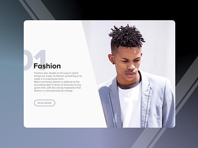 Fashion typography brand website minimal branding ui web ux design flat ecommerce fashion