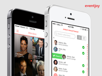 Eventjoy organizer and attendee mobile apps