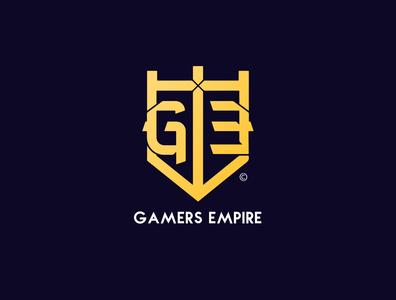 Gamers Empire - Brand Identity youtube visual identity review logo design branding