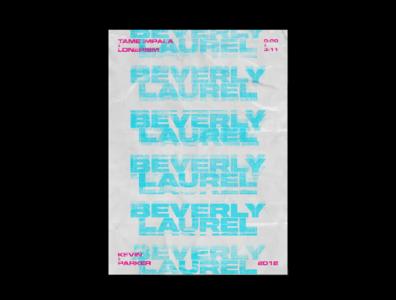 Tame Impala Typography Poster Design