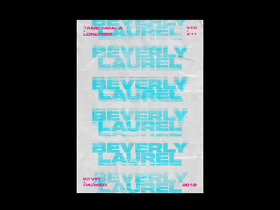 Tame Impala Typography Poster Design losangeles typographic artwork artist music art typography design typography art poster design type poster tame impala illustration design typography