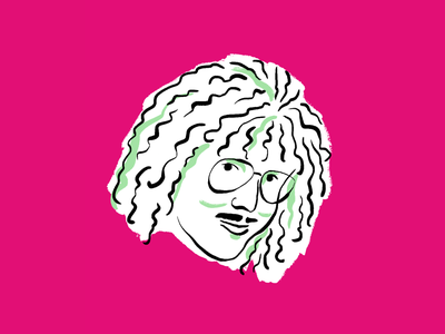 """Weird Al"" Yankovic portrait music weird al drawing illustration"