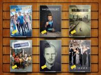 The TV show shelf