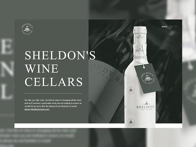 Sheldon's Wine Cellars - Website 🍷 winery wine web design website