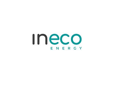 Ineco Energy - logo brand identity energy eco renewable energy renewal energy logo flat branding logo