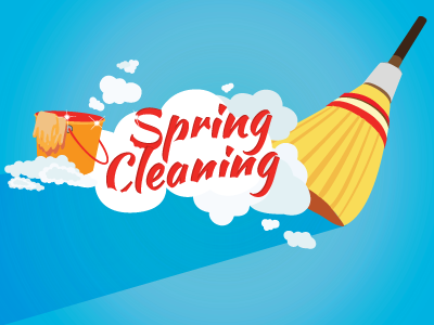 spring cleaningheather condren - dribbble