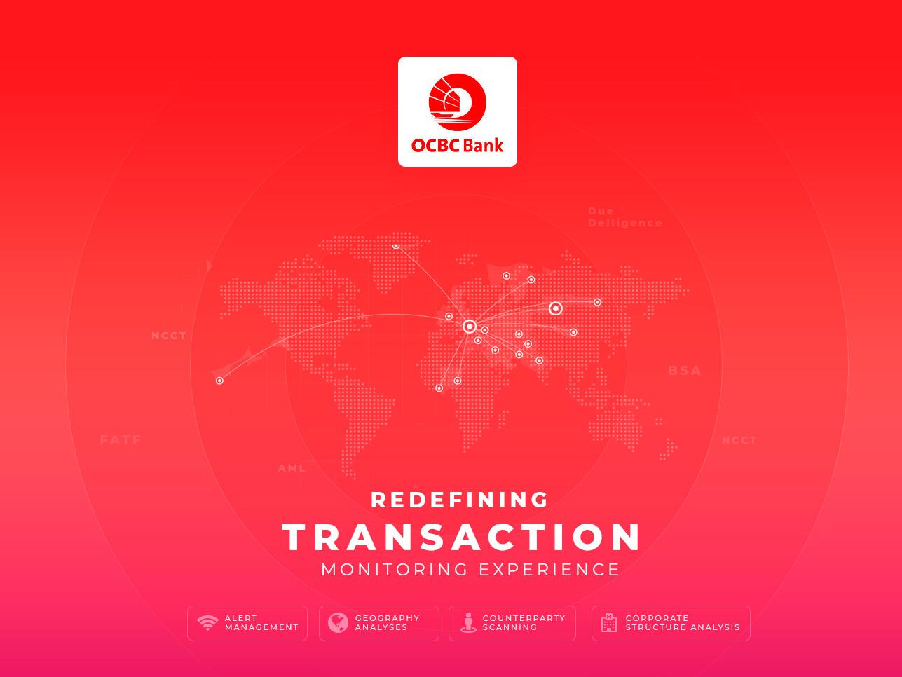 Transaction Intelligence interaction design data visualization dataviz fintech compliance financial dashboard