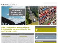 C&K Trucking Website