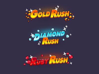 Scratch card logos game art typography art lettering diamond gold game logo game logotype logo