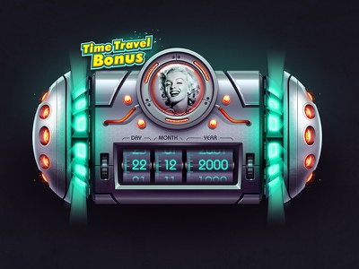 Time Travel Bonus Caesars Casino mini game feature social gamble game slots casino caesars