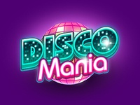 Discomania mini game logo
