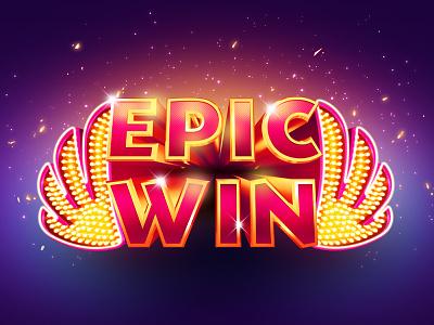 Epic Win nir shindler playtika caesars epic art digital design slots game casino win
