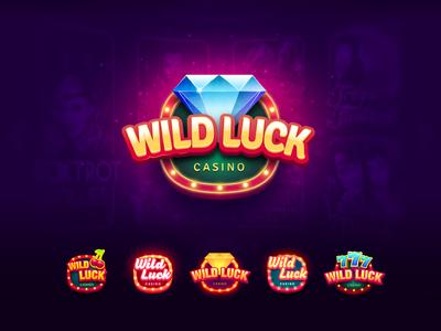 Wild Luck Casino  logo jem game icon viber casino icon logo
