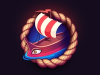 Greek ship Game Icon