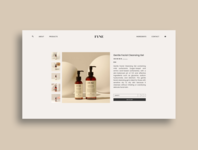 Fyne Shopping neutral shopping visual design freelance ecommerce branding web design portfolio ui trends ui design ui typography design photography clean minimal