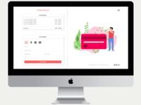 Checkout page UI