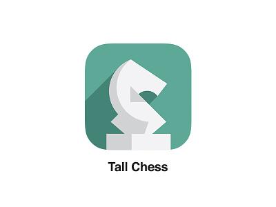 New Tall Chess Icon tall chess ios 7 chess app long shadow
