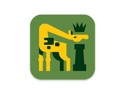 Kinger Giraffe ios icon giraffe chess