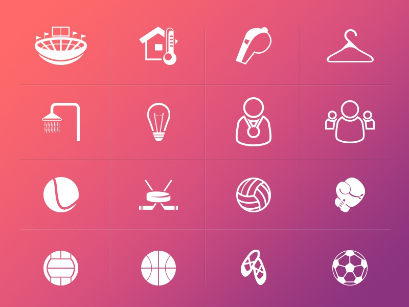 Sport Icons psd photoshop soccer ios sports sport illustration vector icons icon freebie free