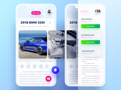GetWheels. Lease Page