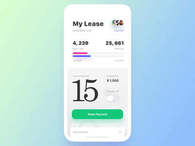 Get Wheels. Search vs Lease Mode