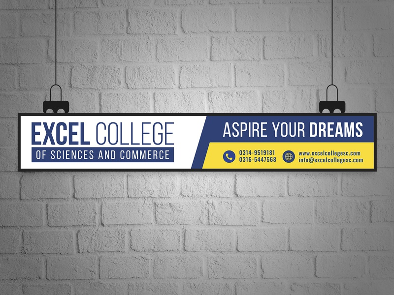Signage Design For a College