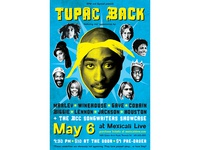 Tupac Back poster