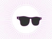 Sun, sunglasses and summer festival