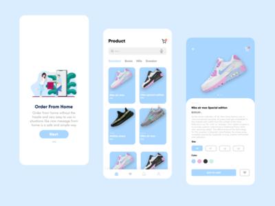 Shoes store ui branding app ux design iphone mobile shoes app uidesigner uxdesign uidesign shoes uiux ui