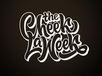 Cheek La Week Lettering Logotype