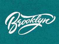 Brooklyn Lettering