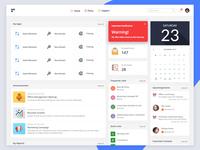 Intranet - application design human resource hrms illustration product design branding app design web design intranet dashboad design management app web ui application ux