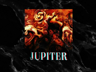 Jupiter square jupiter space print graphic design nasa poster