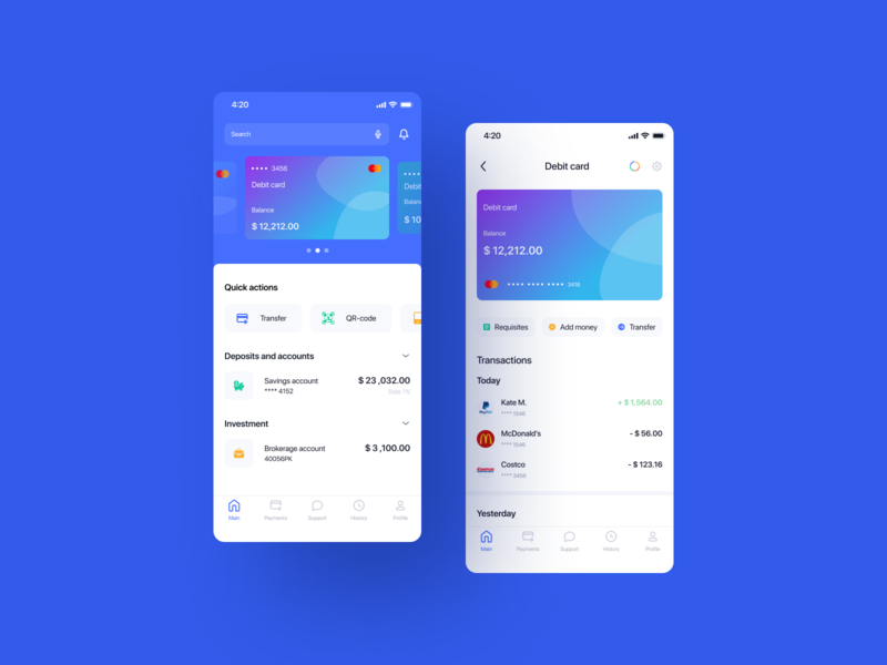 Mobile banking mobile bank mobile banking banking app bank app banking design ux ui mobile design app design mobile app ios app app