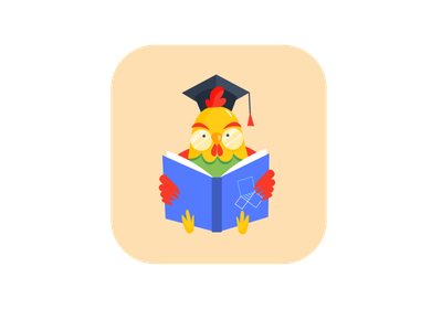 Rooster Logo/Mascot design math rooster character design mascot design mascot logo design vector illustration adobe illustrator