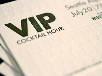 Invite close up vip dribbble