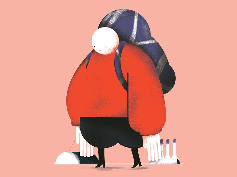 Festival Dropdown ☼ photoshop vector texture design illustration illustrator character