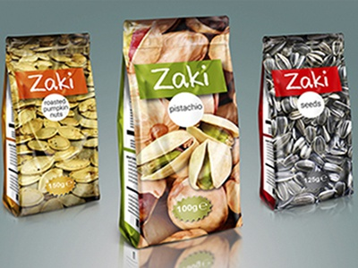 Conceptual design packaging design package nuts nut pack graphic design fmcg