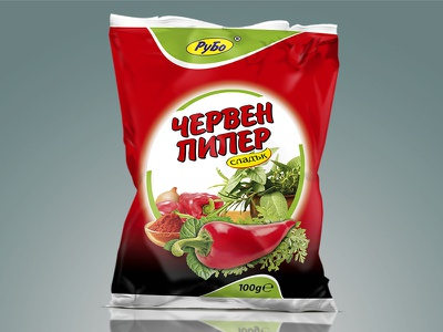 Red pepper package red pepper pepper package pack packaging packaging design graphic design design spice spices fmcg
