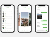 Whatsapp redesign - Concept