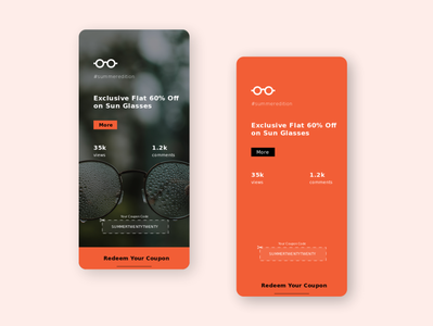 Special Offer design dailyui adobexd ui 100daysofui