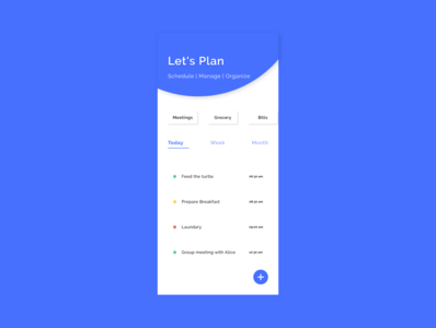 To-Do List App Design app design dailyui adobexd ui 100daysofui