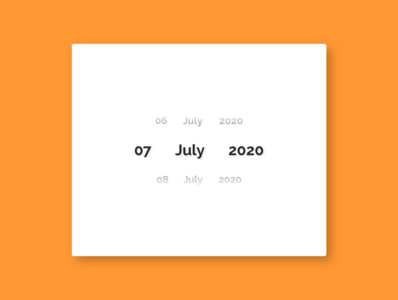 Date Picker datepicker date app design dailyui adobexd ui 100daysofui