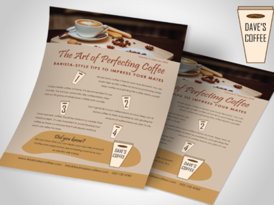 Coffee Shop Flyer 002