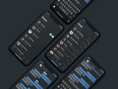 WhatsApp Dark Mode on iOS 13