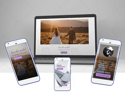 Wedding Invitations #2 story brides app flutter design webdesign digital invitations wedding invitations wedding branding