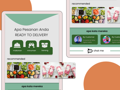 Yours Delivery App food delivery e commerce ui ios android delivery app
