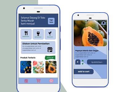 Yao Grocery Shop plant shop mart food grocery store online shop e commerce grocery shop flutter