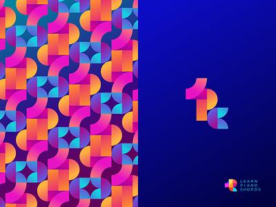 LPC Logo Composition logotype branding brand colorful bright pattern gradient logo gradients logo design logo