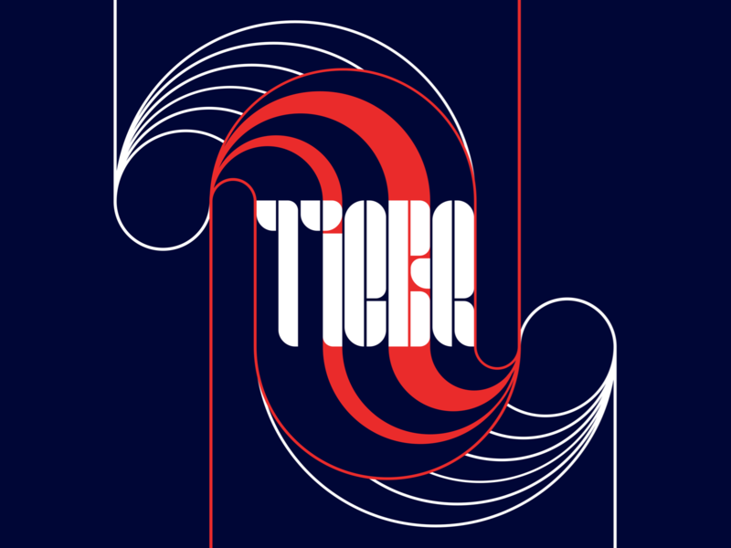 Giovanni Tiger letters typography type design type lettering logo symbol minimalism poster graphic glyph font tiger